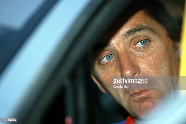 A portrait of Francois Delecour during the World Rally Championships at the New Zealand Rally Mandatory Credit Grazia Neri/ALLSPORT