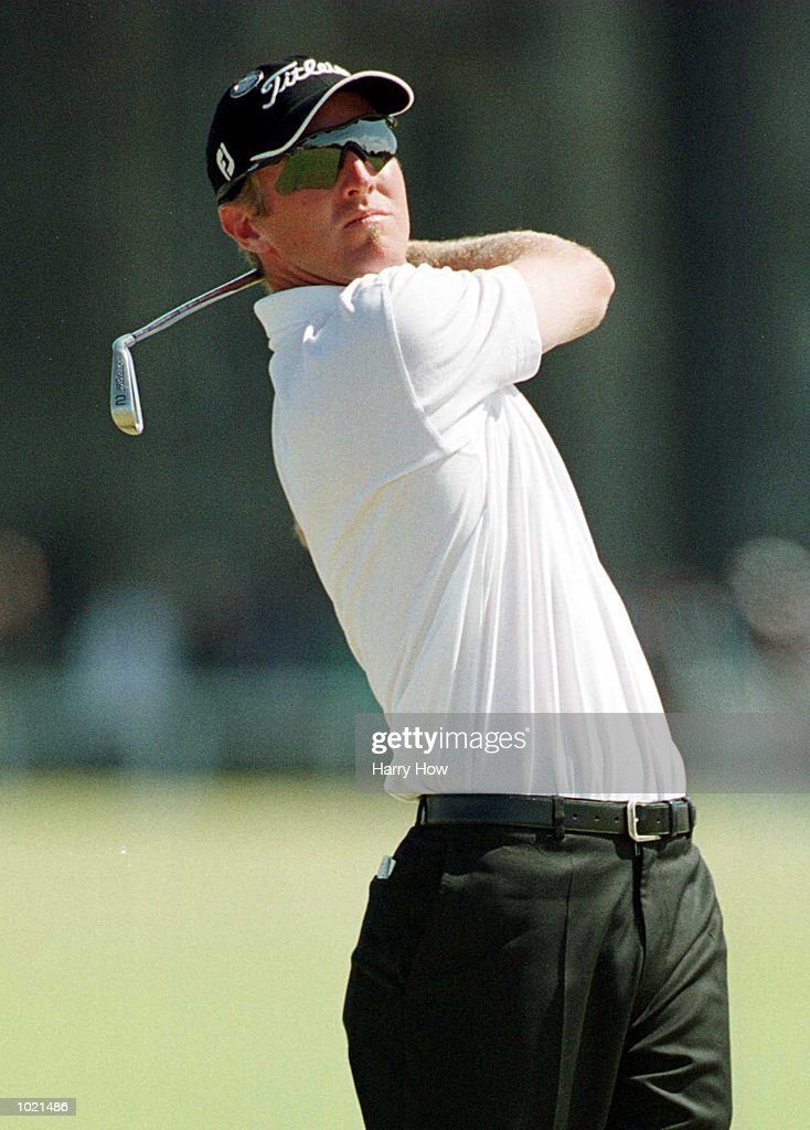 David Duval of the USA on the second tee during the final round of the British Open Golf Championships at the Old Course, St Andrews, Scotland. Mandatory Credit: Harry How/ALLSPORT