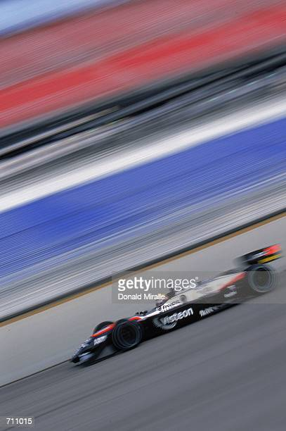 Driver Roberto Moreno of Brazil who drives the Ford Reynard 2KI for Patrick Racing is driving during the Target Grand Prix of Chicago Presented by...