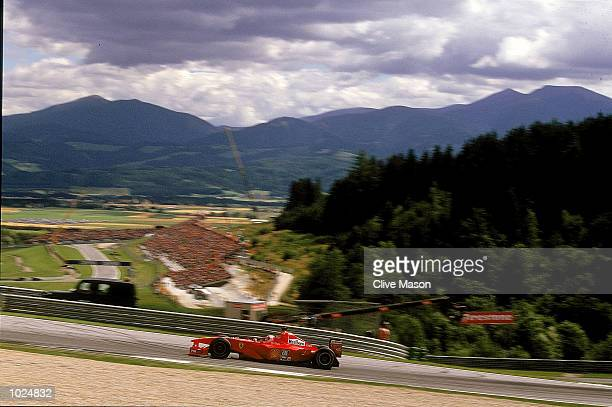General view of the A1 Ring Circuit in Austria during the Austrian Formula One Grand Prix at the A1 Ring in Spielberg Austria Mandatory Credit Clive...