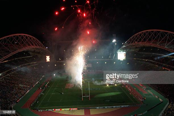 General View of the match between Australia v New Zealand for the Bledisloe Cup at Stadium Australia Sydney AustraliaNew Zealand won 3935 Mandatory...