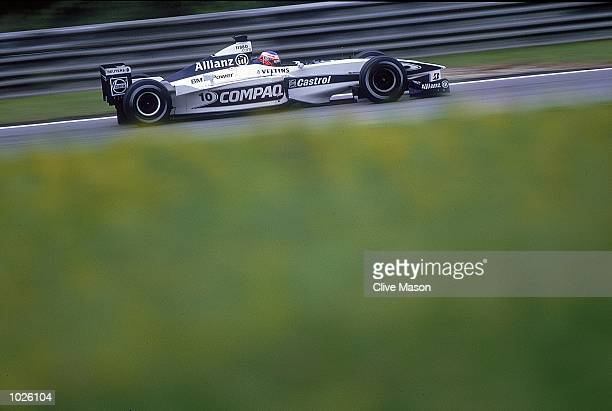 Jenson Button of Great Britain and WilliamBMW in action during the Austrian Formula One Grand Prix at the A1 Ring in Spielberg Austria Mandatory...