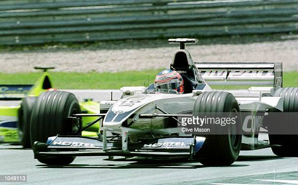 Jenson Button of Williams and England during the Austrian Formula One Grand Prix at the A1 ring in Spielberg Austria Mandatory Credit Clive...