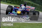 Mika Salo of Finland and Red Bull Sauber Petronas in action during the Austrian Formula One Grand Prix at the A1 Ring in Spielberg Austria Mandatory...