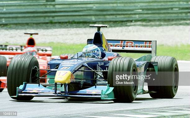 Mika Salo of Sauber and Finland during the Austrian Formula One Grand Prix at the A1 ring in Spielberg Austria Mandatory Credit Clive Mason/ALLSPORT
