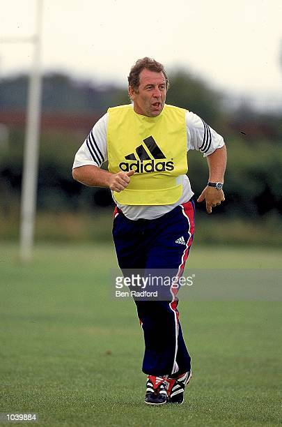 Portrait of Gerry Armstrong who coaches China during the Adidas / Milk Cup Commision held in London Mandatory Credit Ben Radford /Allsport