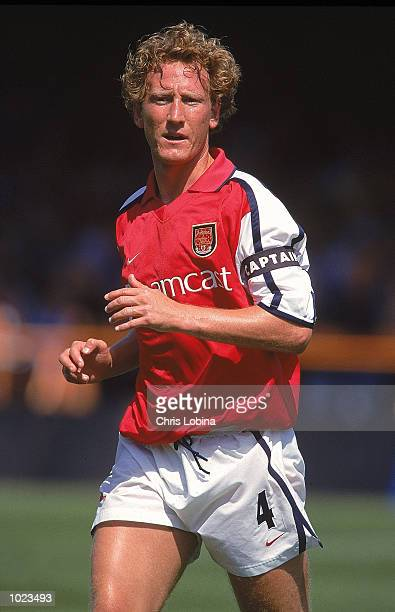 Ray Parlour of Arsenal in action during the Pre-Season Friendly match against Barnet at the Underhill Stadium, in Barnet, London. Arsenal won the...