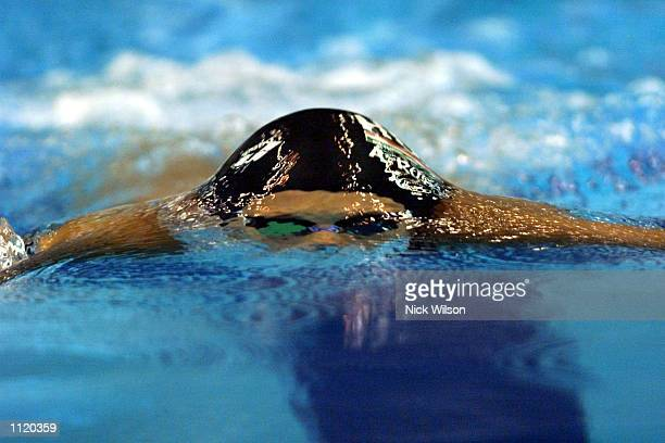 Agnes Kovacs of Hungary in action during the Semi Finals of the womens 200m Breaststroke at the Marine Messe Pool during the World Swimming...