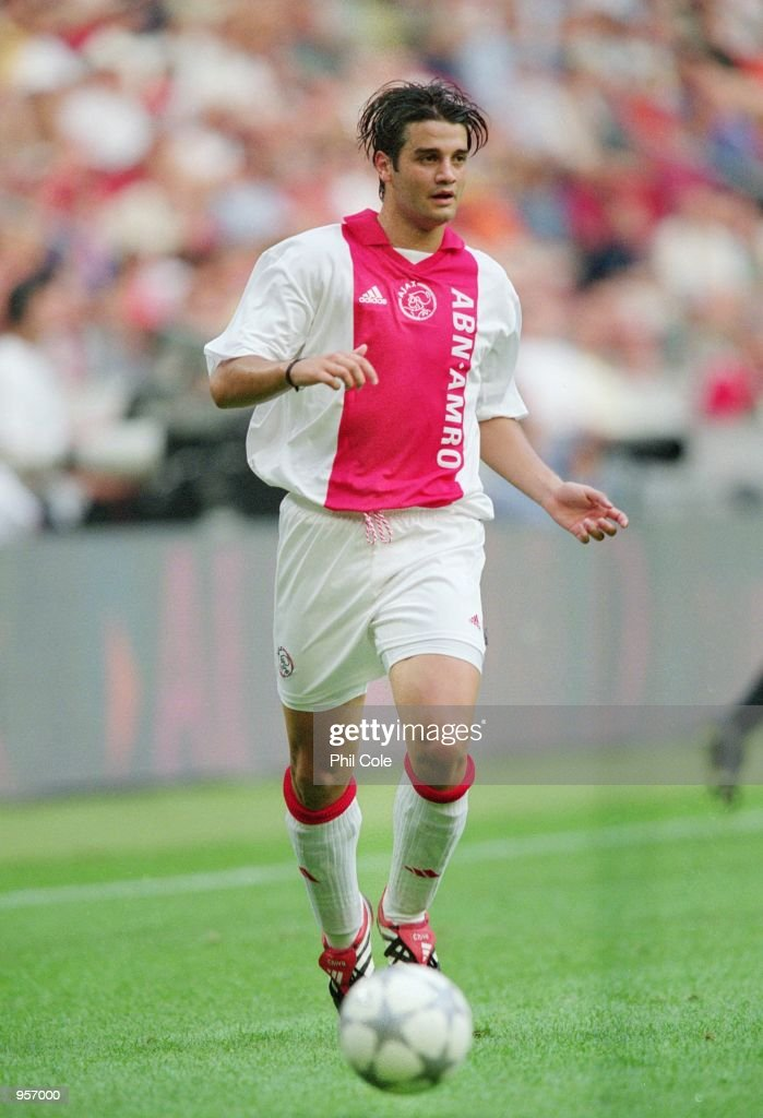 Christian chivu pictures getty images christian chivu of ajax on the ball during the pre season friendly tournament match against thecheapjerseys Image collections