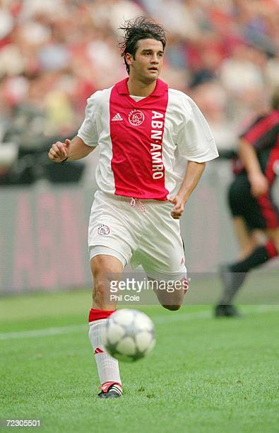 Cristian Chivu of Ajax during the pre-season friendly Amsterdam Trophy match against AC Milan at the Amsterdam ArenA in Holland. Mandatory Credit:...