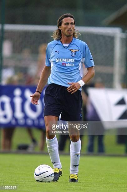 Dino Baggio of Lazio in action during the preseason friendly between Cittadella and Lazio DIGITAL IMAGE Mandatory Credit Grazia Neri/ALLSPORT