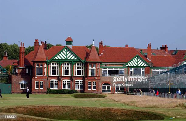 General view of the clubhouse at the 130th Open Championship at Royal Lytham and St Annes Golf Club Lancashire England DIGITAL IMAGE Mandatory Credit...