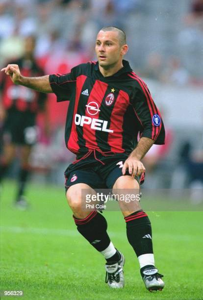Javi Moreno of AC Milan in action during the preseason friendly tournament match against Ajax played at the Amsterdam ArenA in Amsterdam Holland AC...