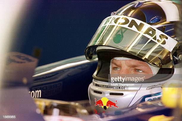 Kimi Raikkonen of Finland and Sauber during first practice for the Formula One British Grand Prix at Silverstone England Mandatory Credit Mark...