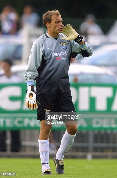Luca Marchegiani of Lazio in action during the preseason friendly between Cittadella and Lazio DIGITAL IMAGE Mandatory Credit Grazia Neri/ALLSPORT