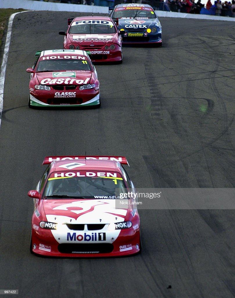 2001 Shell Championship Serie X : News Photo