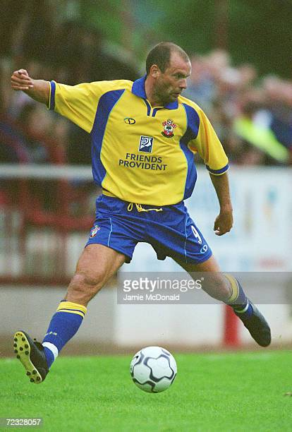 Uwe Rosler of Southampton in action during the Preseason friendly match against Aldershot Town played at the Recreation Ground in Aldershot England...