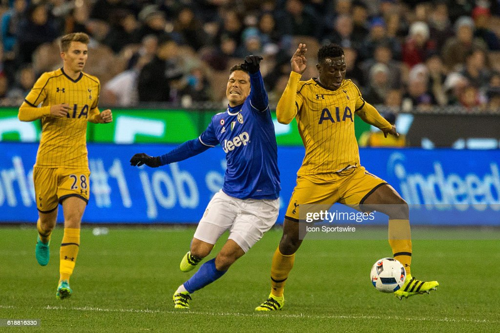 SOCCER: JUL 26 International Champions Cup - Juventus FC v Tottenham Hotspur FC : News Photo