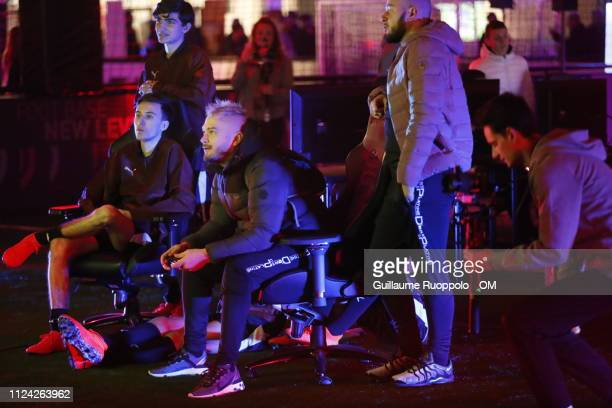Jul during Puma x Alonso 'PowerIp Night'on February 11 2019 in Marseille France