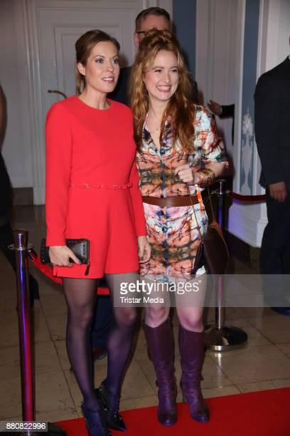 Jule Goelsdorf and Wanda Perdelwitz attend the Movie Meets Media event 2017 at Hotel Atlantic Kempinski on November 27 2017 in Hamburg Germany