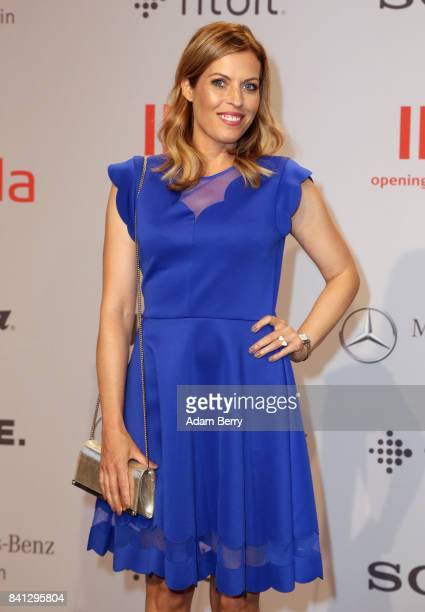 Jule Goelsdorf arrives for the IFA 2017 opening gala on August 31 2017 in Berlin Germany