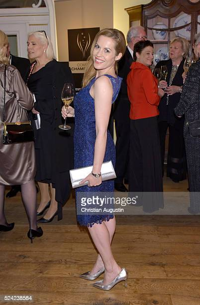 Jule Goelsdorf attends the 'Champagnepreis fuer Lebensfreude' at Hotel Louis C Jacob on April 25 2016 in Hamburg Germany