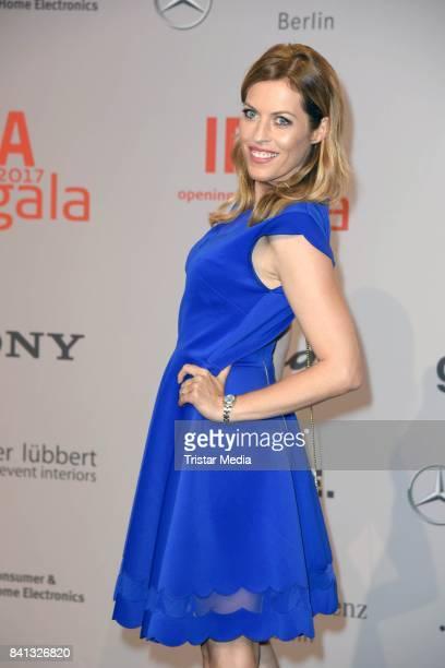 Jule Goelsdorf attends the IFA 2017 opening gala on August 31 2017 in Berlin Germany