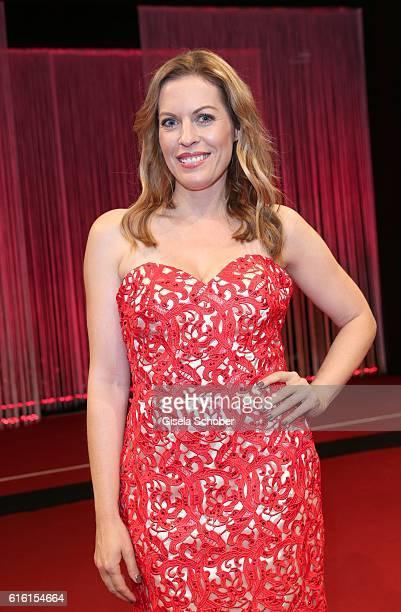 Jule Goelsdorf during the Hessian Film and Cinema Award at Alte Oper on October 21 2016 in Frankfurt am Main Germany