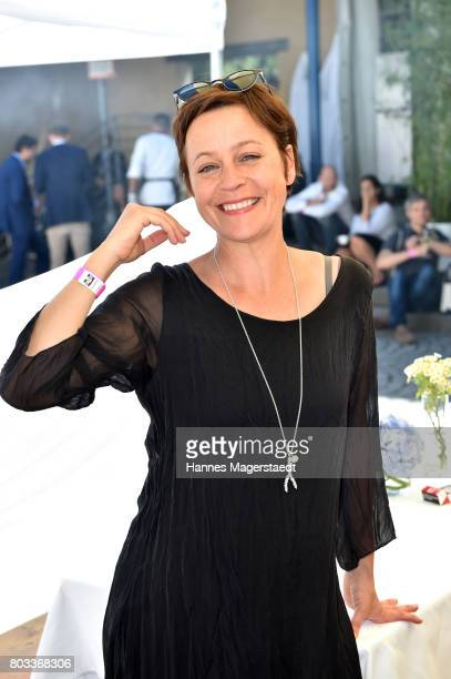 Jule Ronstedt attends the FFF reception during the Munich Film Festival 2017 at Praterinsel on June 29 2017 in Munich Germany