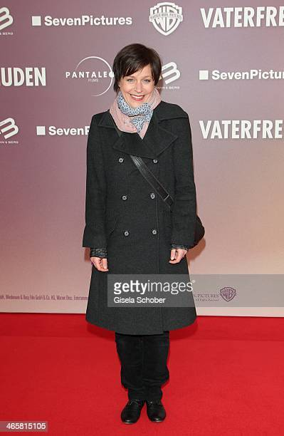 Jule Ronstedt attends the premiere of the film 'Vaterfreuden' at Mathaeser Filmpalast on January 29 2014 in Munich Germany