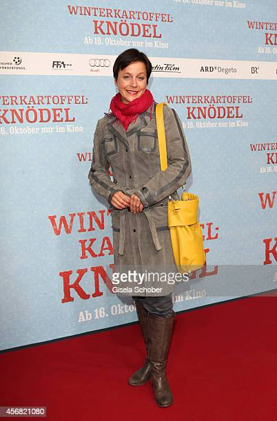 Jule Ronstedt attends the premiere of the film 'Winterkartoffelknoedel' at Filmtheater Sendlinger Tor on October 7 2014 in Munich Germany