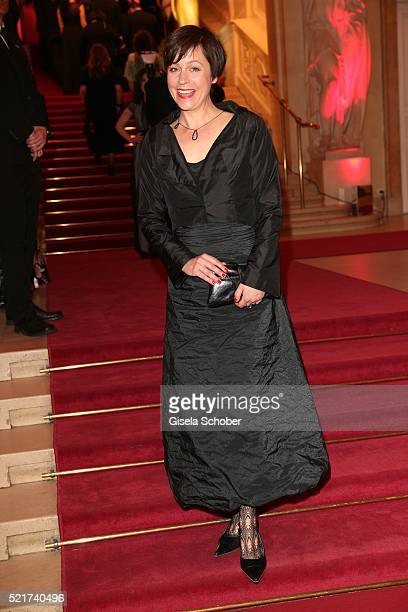 Jule Ronstedt during the 27th ROMY Award 2015 at Hofburg Vienna on April 16 2016 in Vienna Austria