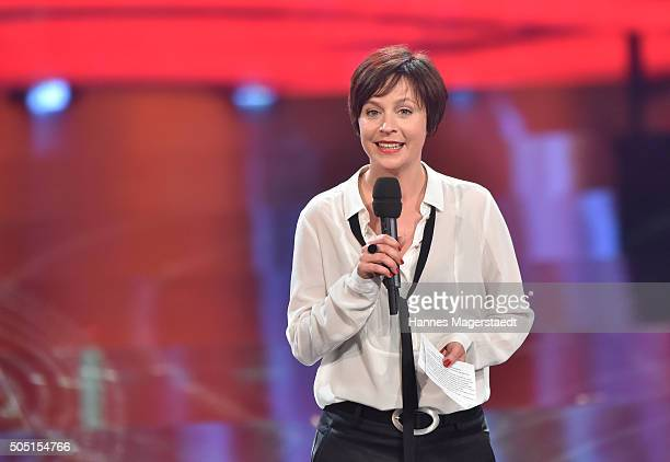 Jule Ronstedt during the Bavarian Film Award 2016 show at Prinzregententheater on January 15 2016 in Munich Germany