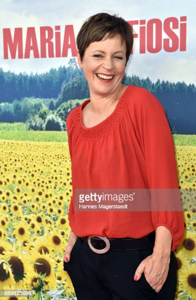 Jule Ronstedt during the 'Maria Mafiosi' Premiere at Sendlinger Tor Filmpalast on May 29 2017 in Munich Germany