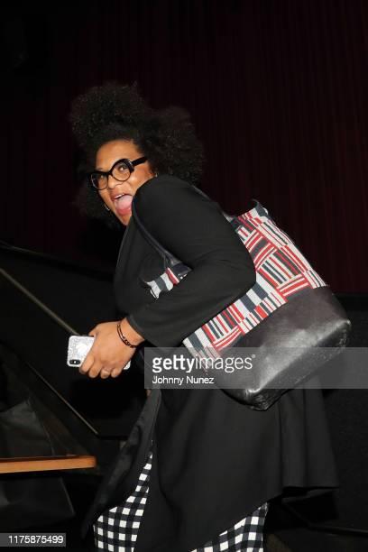 "Julee Wilson attends the ""Mixed-ish"" New York Screening at Regal Battery Park Cinemas on September 19, 2019 in New York City."
