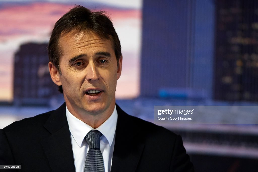 Julen Lopetegui Announced As New Real Madrid Manager : ニュース写真