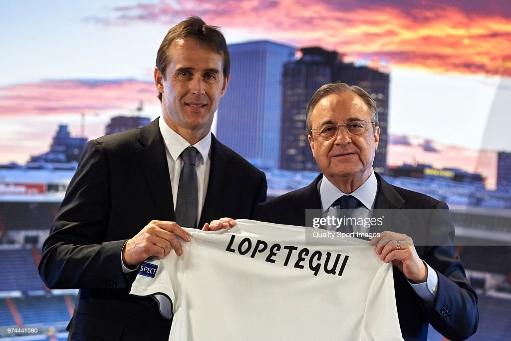 Julen Lopetegui Announced As New Real Madrid Manager : News Photo