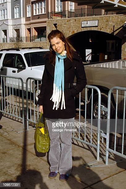 Jules Asner during 2005 Park City Seen Around Town Day 4 at Park City in Park City Utah United States