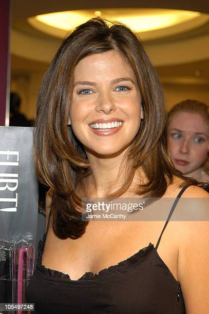 Jules Asner during Flirt Makeup Launch Hosted by Hamptons and Gotham Magazine at Bergdorf Goodman in New York City New York United States
