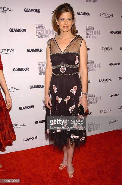 Jules Asner during Glamour Magazine Salutes The 2004 Women of the Year Arrivals at American Museum of Natural History in New York City New York...