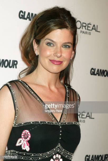 Jules Asner during Glamour Magazine Salutes The 2004 Women of the Year Red Carpet at American Museum of Natural History in New York City New York...