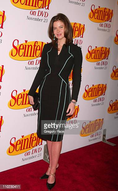Jules Asner of Life and Style during Seinfeld DVD Release Party at Rockefeller Plaza in New York City New York United States