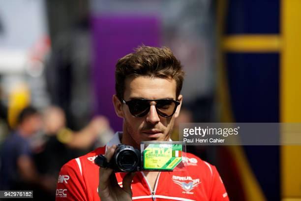 Jules Bianchi Grand Prix of Italy Autodromo Nazionale Monza 07 September 2014