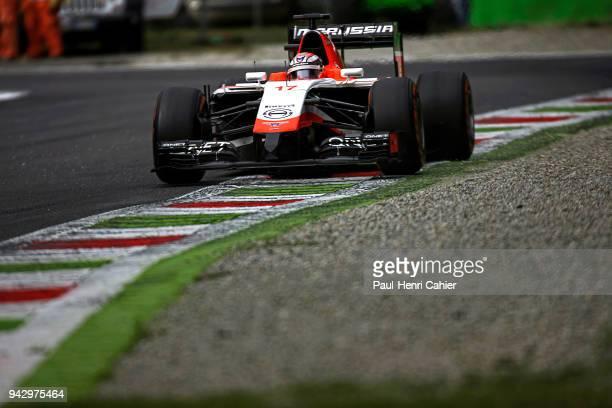 Jules Bianchi MarussiaFerrari MR03 Grand Prix of Italy Autodromo Nazionale Monza 07 September 2014