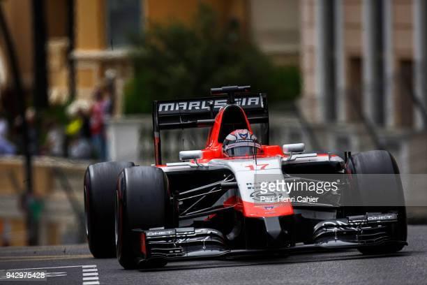 Jules Bianchi MarussiaFerrari MR03 Grand Prix of Monaco Circuit de Monaco 25 May 2014