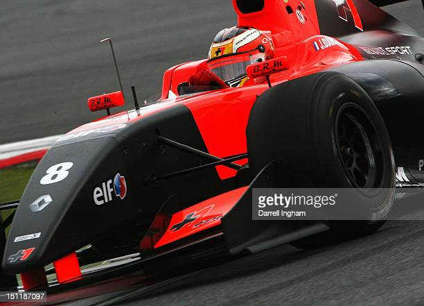 Jules Bianchi of France drives the Tech Racing Dallara Renault T12 during the Formula Renault 35 Championship race at the Silverstone Circuit on...