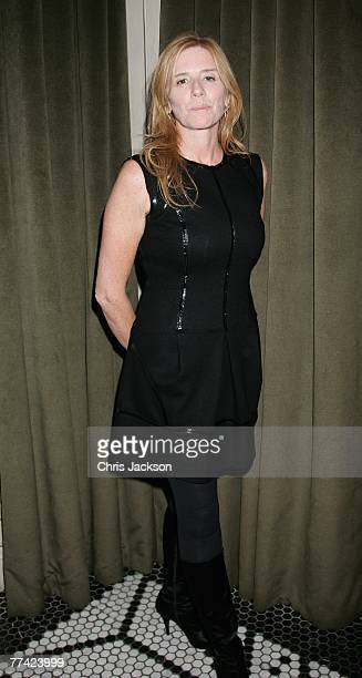 Jules Daly attends the after party for The Assassination Of Jessie James at Lucianos on October 20 2007 in London England