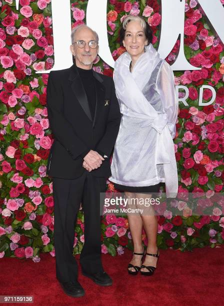 Jules Fisher and Peggy Eisenhauer attend the 72nd Annual Tony Awards at Radio City Music Hall on June 10 2018 in New York City
