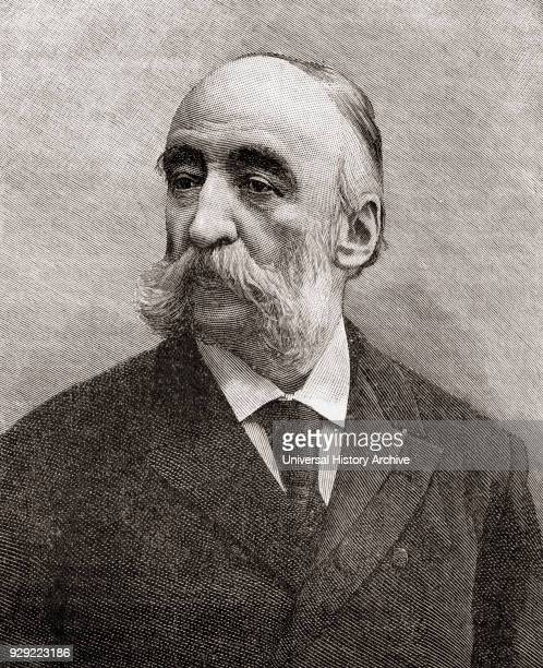 Jules François Camille Ferry 1832 – 1893 French statesman and republican From The Century Edition of Cassell's History of England published c 1900