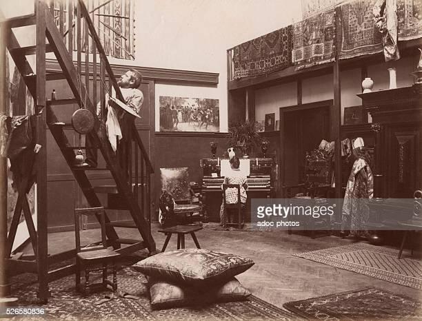 Jules Garnier French painter born in Paris Ca 1880
